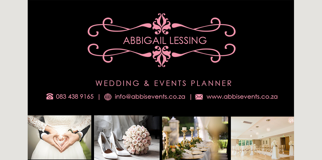 Abi's Events Business card